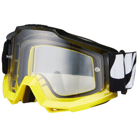 100% Accuri Anti Fog Clear goggles geel/zwart